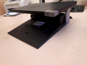 Dell docking station and screen tower