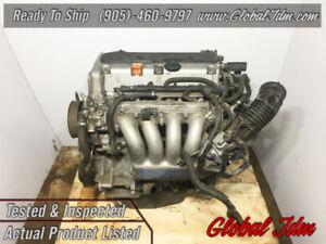 JDM 2003-2007 Honda Accord 2.4L DOHC i-VTEC K24A Engine Motor