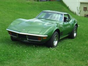 Ground Up Renewed 1972 LT1 matching numbers Corvette
