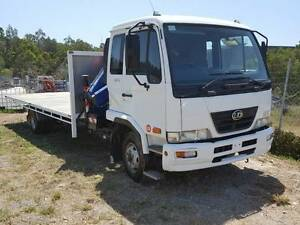 2008 Nissan UD MK6 Turbo Diesel Crane Truck Gaven Gold Coast City Preview