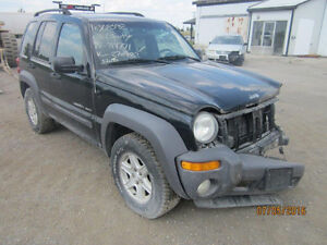 JUST IN FOR PARTS! 2003 JEEP LIBERTY @ PICNSAVE WOODSTOCK!!