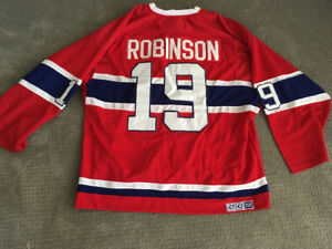 Price reduced! Larry Robinson jersey.  Unsigned.