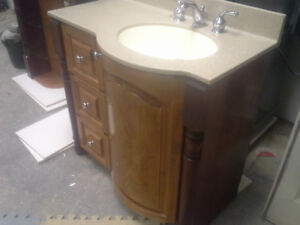 2 piece bathroom vanity set