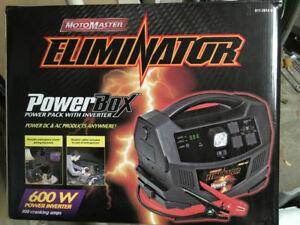 Chargeur - booster batterie avec DC/AC