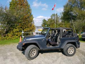 Jeep wranglerJK pas de kilométrage