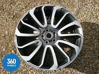 "NEW 20"" RANGE ROVER EVOQUE AUTOBIOGRAPHY STYLE WHEELS X4 BOXED 5X108 MUST SEE"