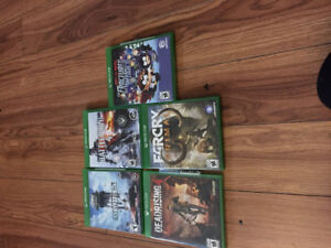 Used Xbox one games