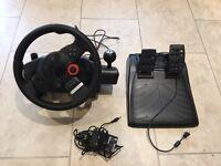Logitech Driving Force GT PS3 Wheel & Pedals