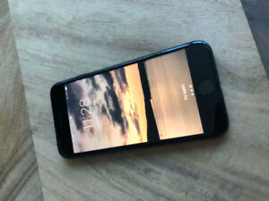 Awesome black iPhone 7 - 32GB - USED (and in great condition)
