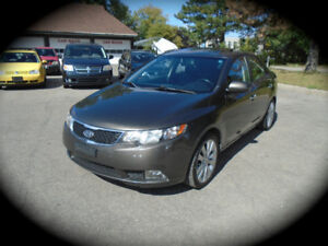 2011 Kia Forte, SX 2.4L, AUTO, LEATHER  **+12 MONTH WARRANTY**