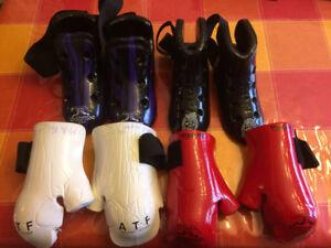 Taekwondo sparring gear - équipement de combat