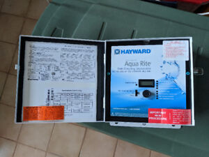 Brand New In-Ground Pool Hayward Aqua Rite Chlorinator