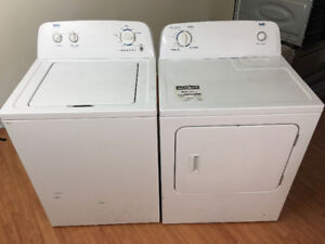 Only 3 yrs old very clean inglis white washer electric dryer