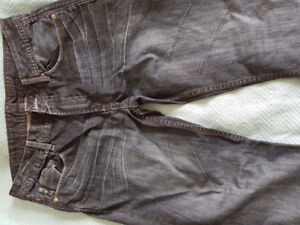 Jeans Mens Size 34 CK Calvin klein Guess Stylish Dress Pants