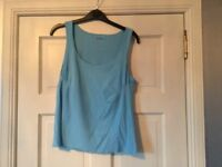 Women's USA Pro top, light blue, size medium, not worn and no tags.