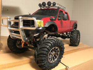 Rock Crawler custom, double moteur !