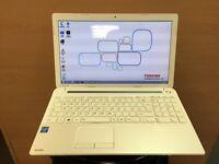 Toshiba Slim HD Laptop, 1000GB, 4GB Ram, HDMI (Kodi) Fast Start Up, Microsoft office, immaculate