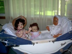 Wanted English twin dolls pram.