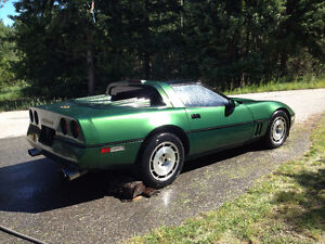 1986 Custom Chevrolet Corvette Coupe (2 door)