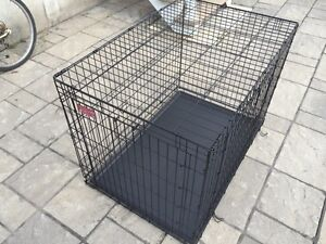 NEW XLARGE DOG CAGE/CRATE WITH SEPARATOR
