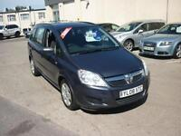 2008 Vauxhall Zafira 1.6 16v ( 105ps ) Exclusiv Finance Available