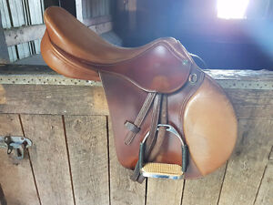 HDR Sellier France - Close Contact English Saddle