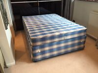 Quality Double Bed Base + Mattress