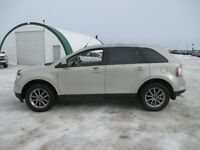 2007 Ford Edge SEL Lthr Panoramic Roof  Pearl White AWD