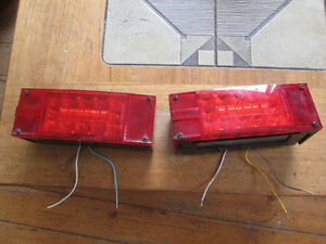 Trailer Tail Lights - Pair