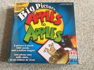 Brand new Big Picture Apples to Apples game
