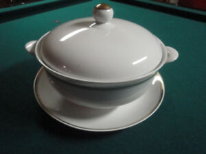 SOUP TUREEN - 3 PIECE, MADE IN GERMANY