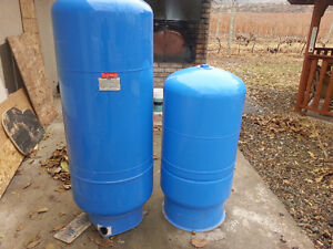 2 TANKS Pressure tanks for well on sale in Osoyoos.