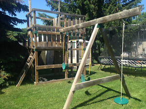 Outdoor play set/swingset