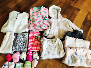3-12 Month Baby Girl Clothes