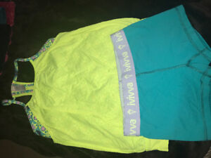 Ivivva shorts and double Dutch tank size 10 set