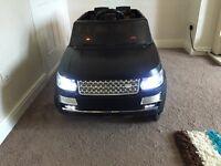 Range Rover Sport Svr Style 12v Electric ride on