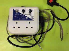 SMS MK2 4.5A twin fan speed controller hydroponic equipment
