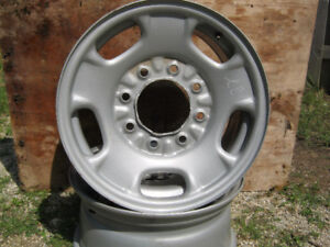 2006-13 NTO GM Steel Rims (2) 8 bolt 17 inch