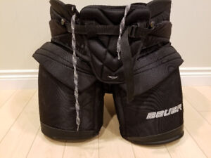Bauer Supreme NXG goalie pants xl, like new, hockey goalie