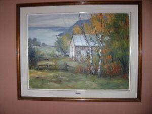Peinture (3) vendu en lot ou séparé,offre raisonnable acceptée