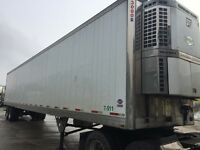 2007 Utility 3000r reefer trailer with Thermo King Reefer