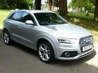 2013 Audi Q3 TDI QUATTRO S LINE 5-Door Estate Diesel Manual