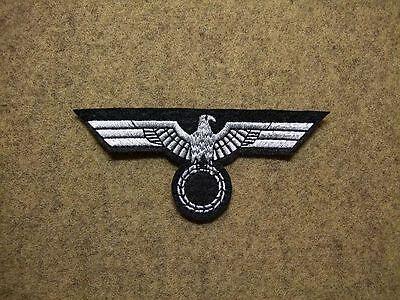 Gestickte Adler (Uniform Brustadler WH - Panzerabteilung auf Filz gestickt WWII)