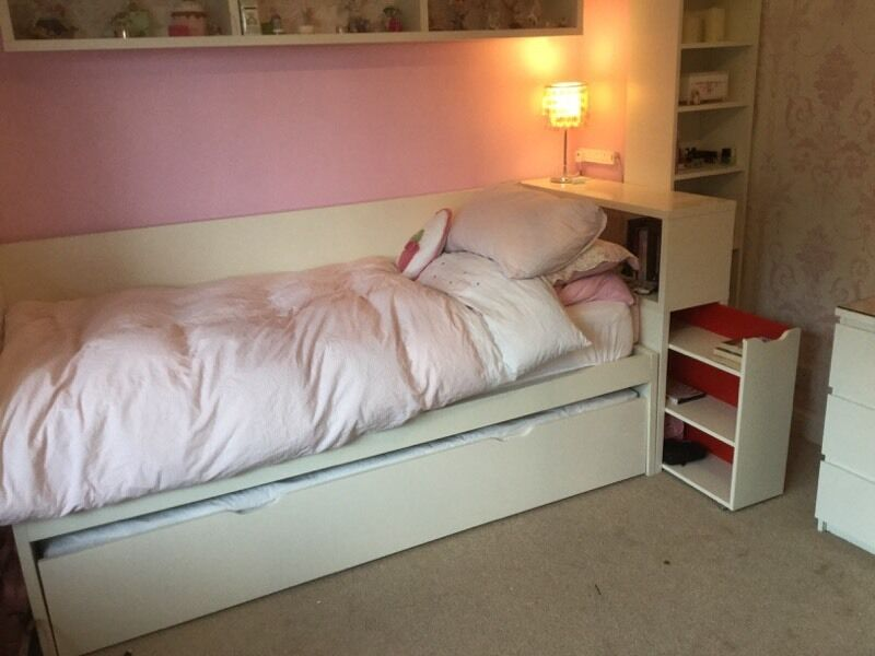 Ikea Flaxa Bed With Pullout Underbed In Crewe Cheshire