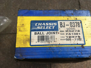 Moog K5273 Ball Joint, CHASSIS 1 BALL JOINT K5273 10378 BJ0378