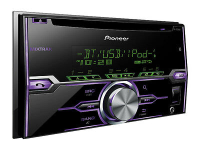 Купить Pioneer FH-X720BT - PIONEER FH-X720BT 2-Din CD/MP3/USB Car Audio Stereo w/ Bluetooth 88493825667