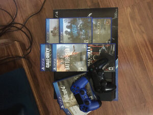 PS4 Perfect Condition, Battlefield 1, Call of Duty, top games!