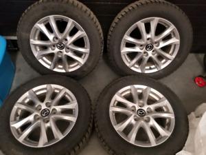 Mazda3 oem mags nokian nordman7 tired