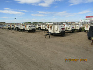 34 LIGHT TOWERS FOR SALE  VARIOUS BRANDS