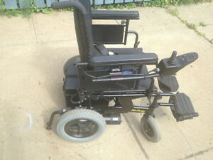 ONE INVACARE NUTRON POWER WHEEL CHAIRSTILL IN GREAT SHAPE